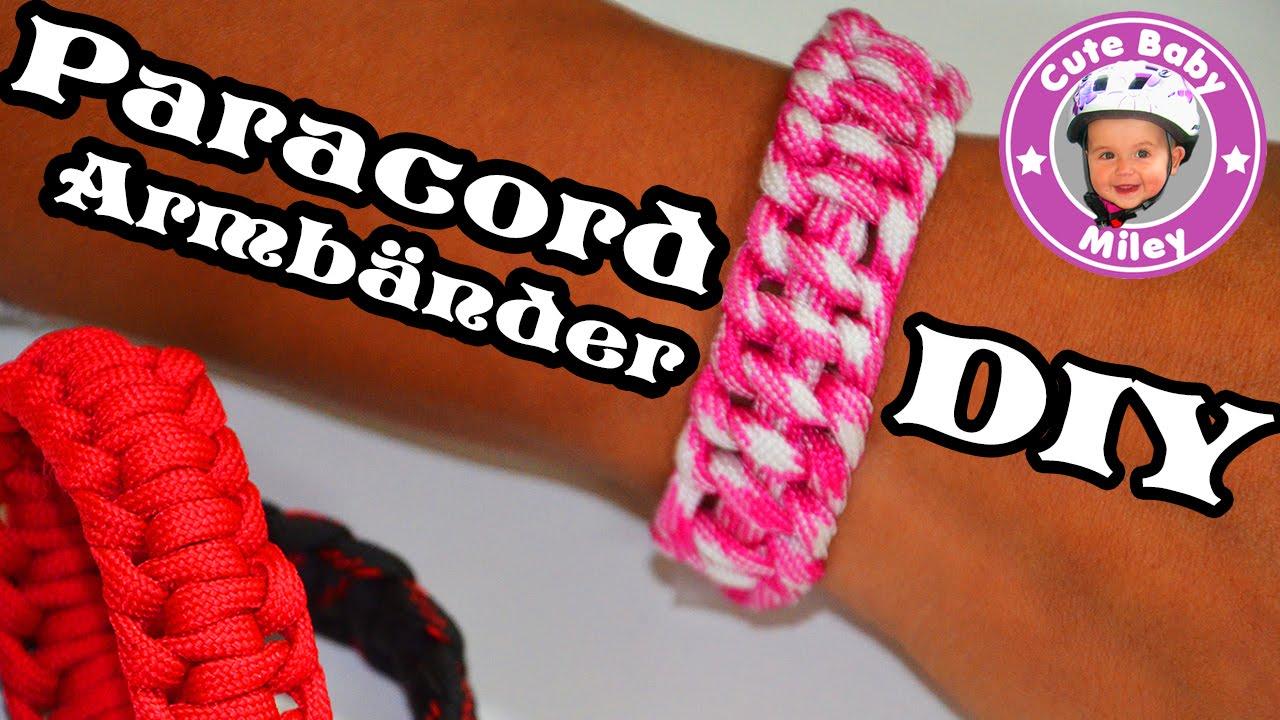 Bevorzugt Paracord Armband selber machen DIY Anleitung tutorial HT44