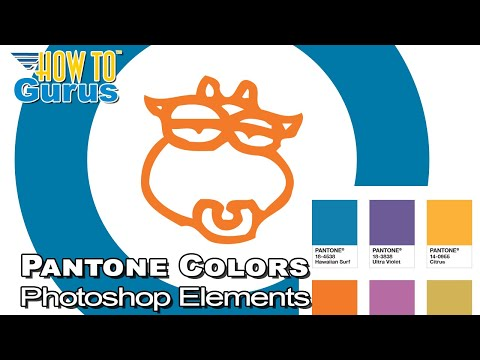 How To Use Pantone Colors In Photoshop Elements