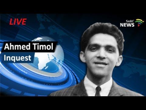 Ahmed Timol Inquest, 24 July 2017 Day 6 - PT1