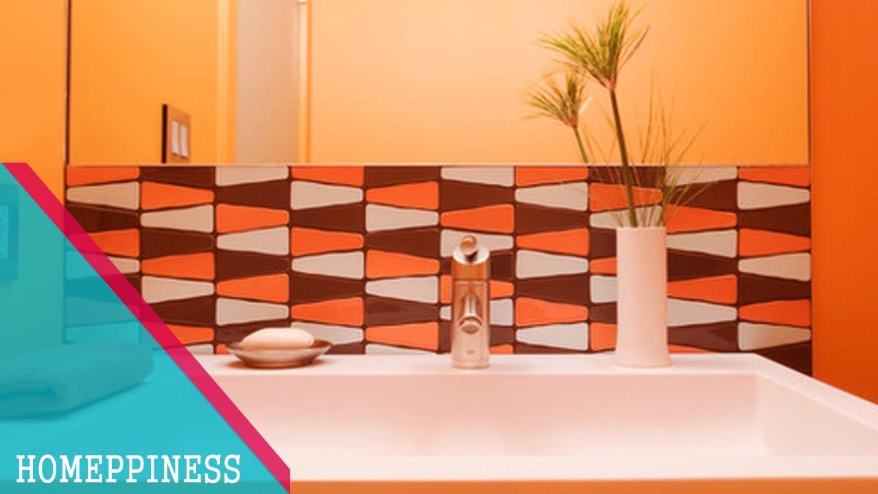 design backsplash earth tones cool modern bathroom unitebuys ideas interior cheap