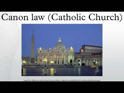 Canon law (Catholic Church)