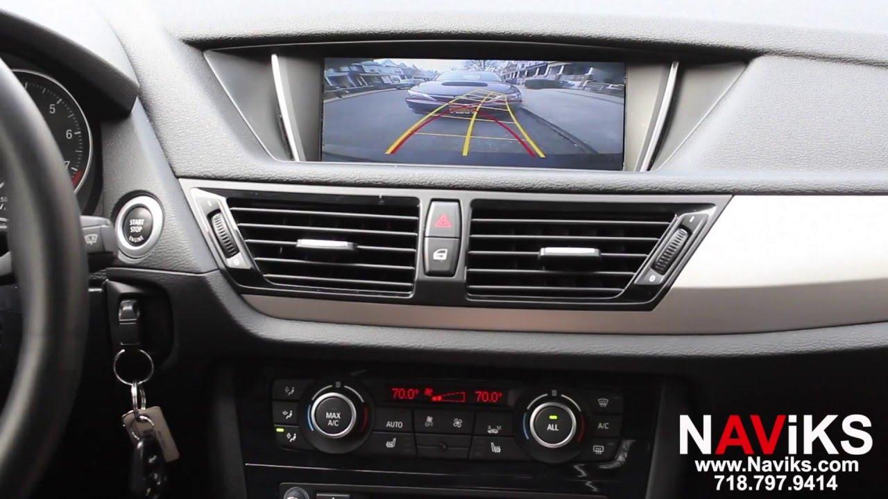 2015 Bmw X1 E84 Naviks Rear  U0026 Front View Camera Interface