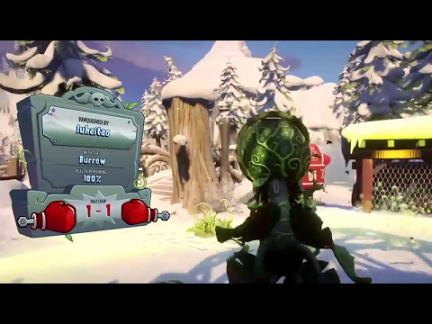 Plants vs Zombies GW2 Mystery Portal Serve and Volley 1080i gameplay PS4