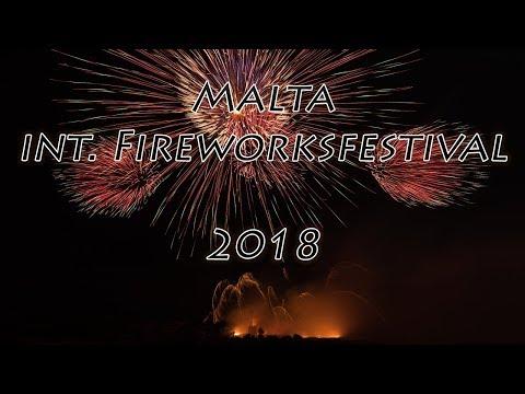 Malta International Fireworks Festival 2018 - St. Mary Fireworks Factory (Ħal Għaxaq) 🎬