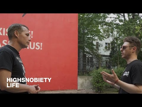 Highsnobiety Visits : Shepard Fairey discusses Banksy, propa