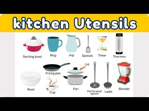kitchen-utensils-with-pictures|-kitchen-vocabulary-in-hindi/urdu