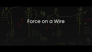 SPH4U/Grade 12 Physics: 8.4.1 Magnetic Force on a Wire