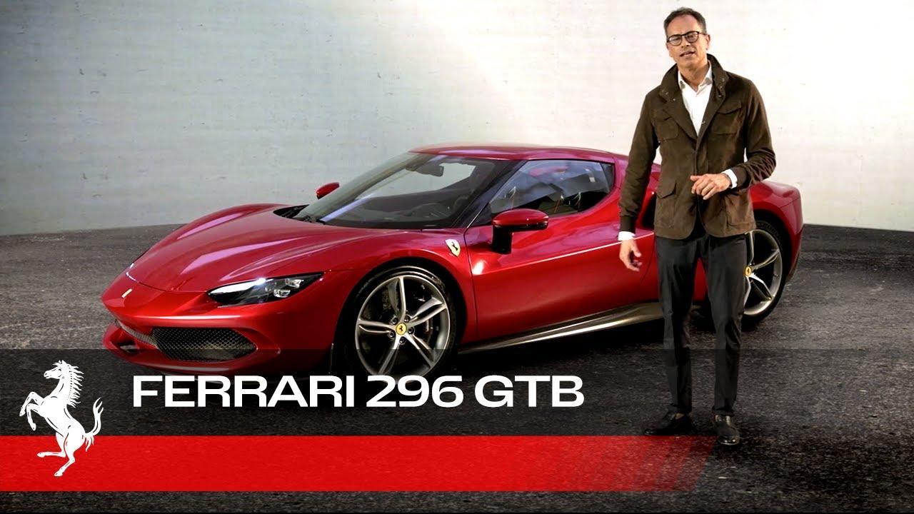Ferrari 296 GTB - Inside design with Flavio Manzoni