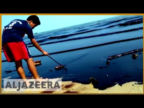 🇮🇩 Indonesia declares state of emergency after oil spill ignites | Al Jazeera English