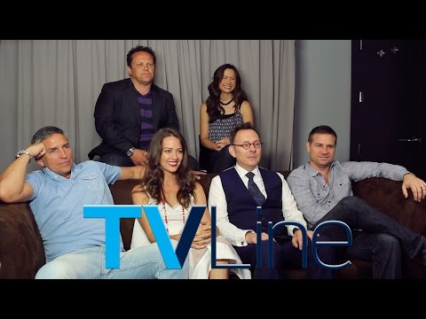 """""""Person of Interest"""" Interview at Comic-Con 2015"""