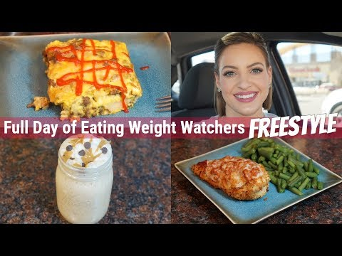Weight Watchers Freestyle Full Day of Eating 1.29.18