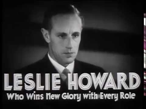 Leslie Howard Actor Kay Francis British Agent 1934