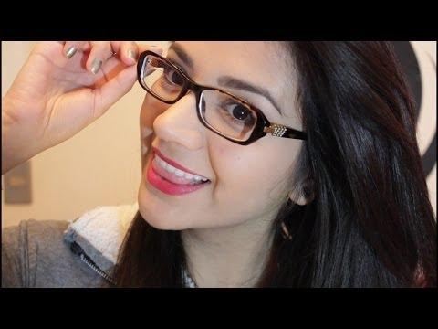 244e318895 Maquillaje para chicas que usan lentes♥ - YouTube