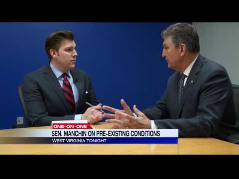 Dan Thorn: Senator Joe Manchin talks GOP healthcare bill, 2018 race