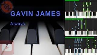 Baixar Gavin James - Always | Espelho da Vida | [Tutorial Piano] (Synthesia)