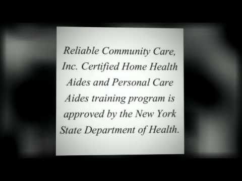 Reliable Community Care New York Home Health Care Agency YouTube