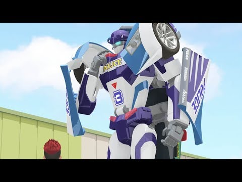 TOBOT Athlon English | 205B - Roll And Control | BRAND NEW! | Season 2 Full Episode | Kids Cartoon