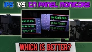 IPS VS TN Panels - Input Lag (Latency) Test and Discussion on Ghosting