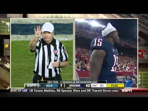 UCLA at Arizona Fake Ref and Fight