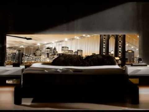 Decoracion dormitorios cabeceros retroiluminados youtube for Vinilos para dormitorios modernos