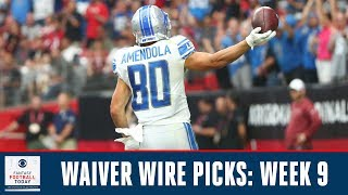 Top WAIVER WIRE Targets, Pickups for Week 9 | 2019 Fantasy Football Advice | Fantasy Football Today