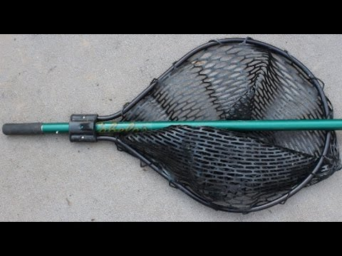 Landing Net Review - Fish Friendly Net, Cabelas Custom Landing Net