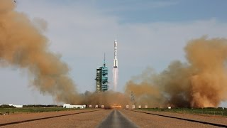 China Sends Astronauts Into Space for 33 Day Mission