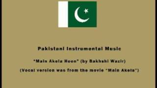 Pakistani Instrumental Music - Main Akela Hoon (by Bakhshi Wazir)