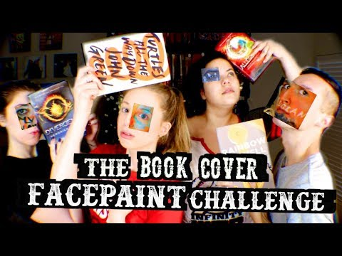 THE BOOK COVER FACE PAINTING CHALLENGE