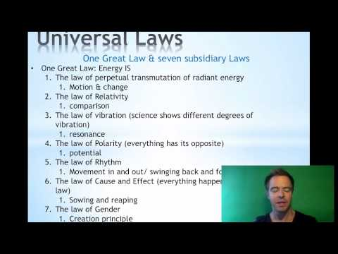 How to use the Universal laws | Dr Cody Golman | masters of matter | law of attraction