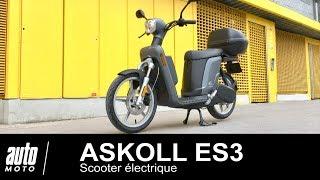 Scooter électrique Askoll ES3 ESSAI POV Auto-Moto.com