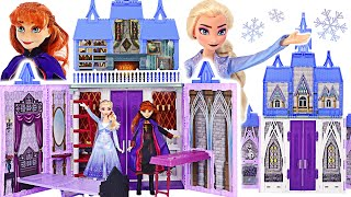 Frozen2, Party with friends at the pretty Arendel Castle with Anna and Elsa   PinkyPopTOY