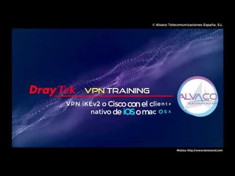 Vigor 3900 iKEv2 con clientes nativos mac OSX e iOS