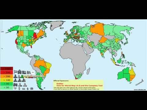 Erepublik online war strategy game world map youtube erepublik online war strategy game world map gumiabroncs Choice Image