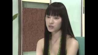 2005年の栗山千明出演CM「森永アロエヨーグルト」のメインキング&イン...