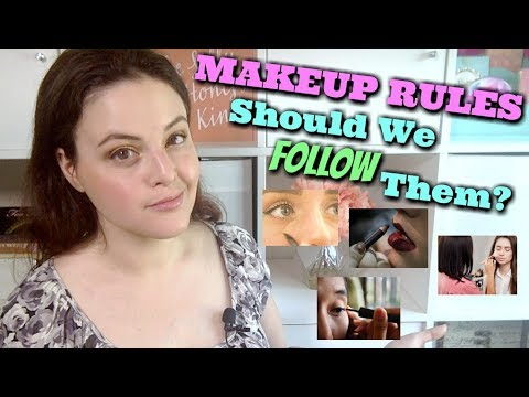 LIVE CHAT: Makeup Rules Everyone Should Know By 40? Is this for REAL?