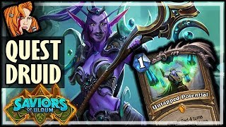 This Is How You Play QUEST DRUID - Saviors of Uldum Hearthstone