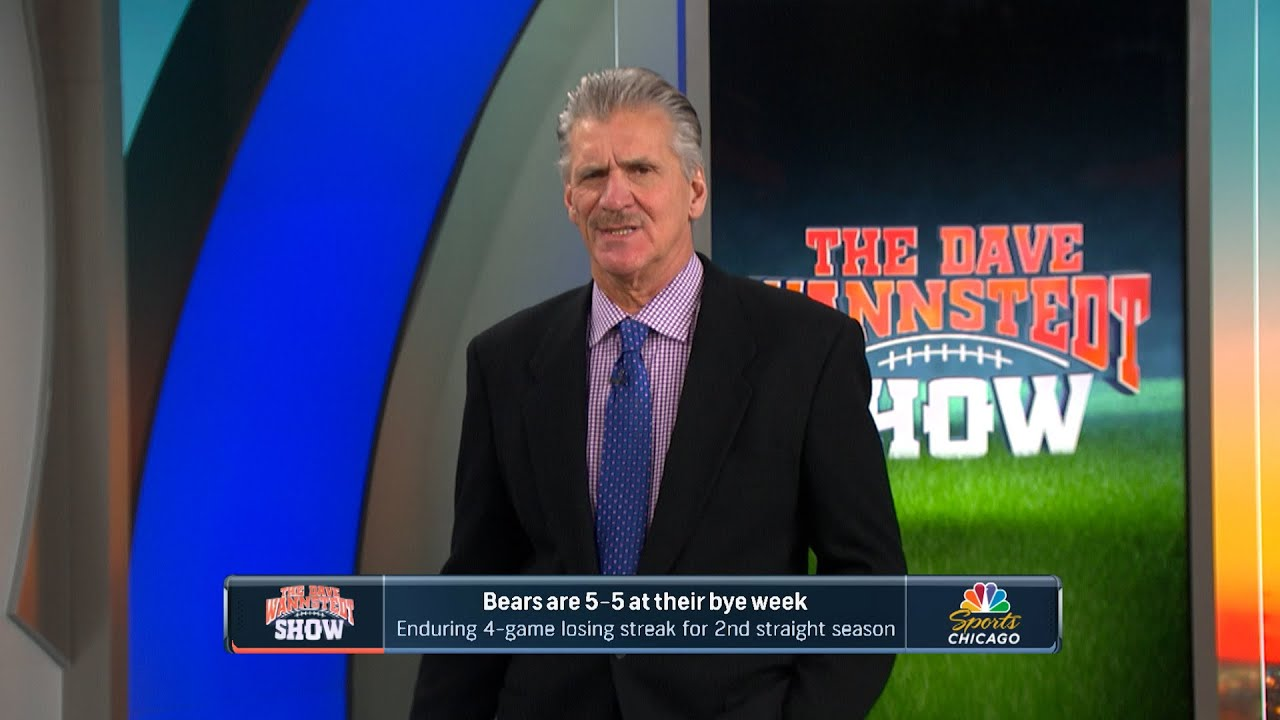 Bears 5-5 at the bye, enduring 4-game losing streak for 2nd straight season | Dave Wannstedt Show