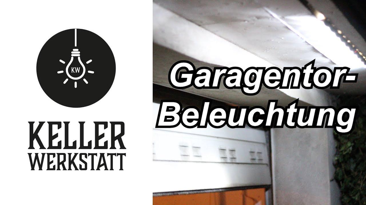 Garagentorbeleuchtung | Lichtleiste für Garage | LED-Leiste für ...