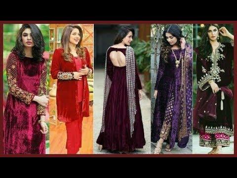 Velvet dresses ||Latest Velvet dress||New Dress Collection For Girls||Designer Dress||Beautiful You|