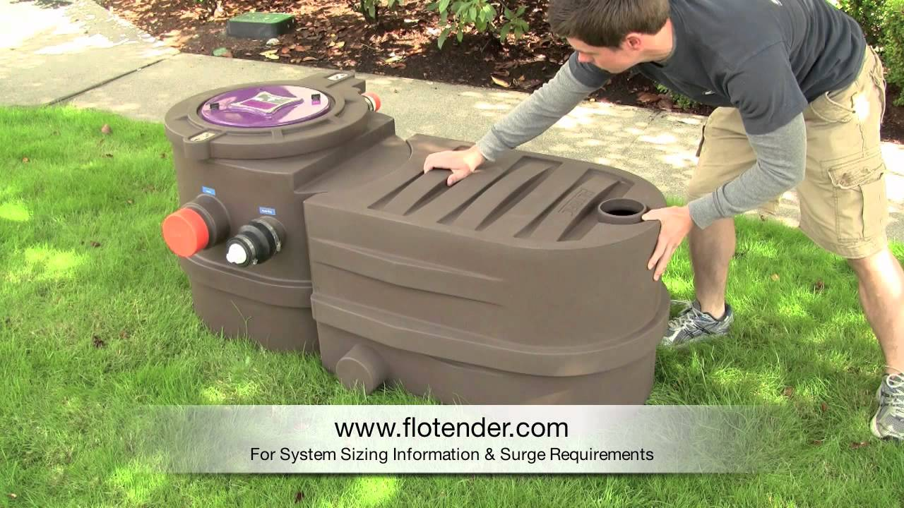 Flotender Grey Water System Video Youtube