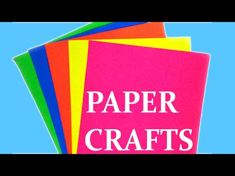 Easy DIY Paper Crafts Ideas | How to Make Paper Things