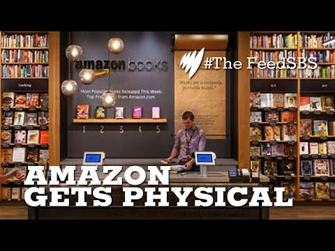 Amazon opens non-virtual bookstore I The Feed
