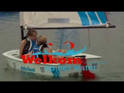 Social Flash Welkom op het water | Optimist - 14 okt 16 - 12:19
