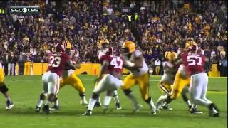 #5 Alabama vs #16 LSU 2014 HD