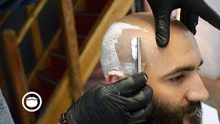 Wet Shave Scalp Treatment & Beard Trim thumbnail