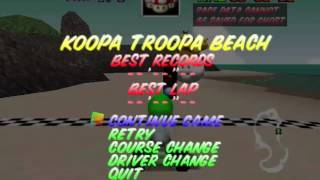 Mario Kart 64 - Koopa Troopa Beach Theme - User video