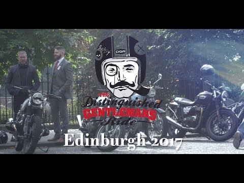 Distinguished Gentleman's Ride 2017 – Edinburgh, Scotland