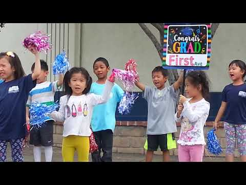 Mercy and charity performing at Arcadia Chinese School