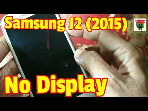 Samsung J2 (2015) No Display solutions